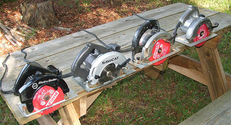 From the flickr pool old school black decker lineup toolmonger heres a great lineup of older black decker sidewinder saws from reader putnameco generally i love any circ saw but im fascinated with older ones greentooth Choice Image