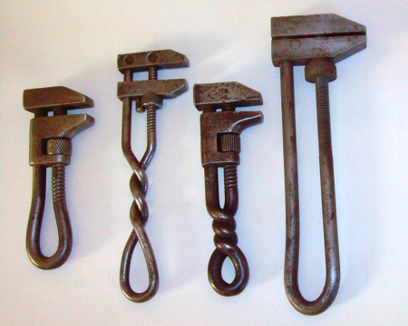 Vintage Hand-Forged Wrenches | Toolmonger
