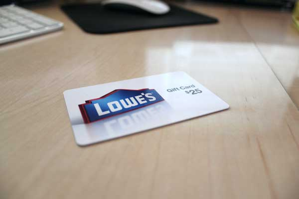 Win a $25 Lowe's Gift Card | Toolmonger