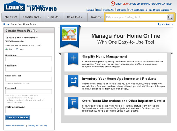 Lowe's Project Planning   Toolmonger