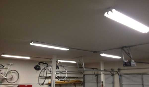 Three Ways To Light Up A Garage