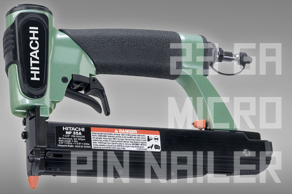 hitachi pin nailer. This One Features A Fixed Rear Exhaust, But Adds Dual Trigger System That Allows You To Easily Hold And Fire It In Variety Of Different Ways. Hitachi Pin Nailer