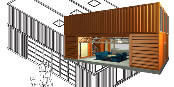 Build Flynn's Container Home from Tron Legacy… Kinda ... on green roof structure design, single container interior design, container construction, container architecture design, container home, kerala home plans and design, shipping container design, container box houses, steel container design, container buildings design, small 16x20 homes design, big boom design, container cabin design, storage container design, container cafe design, container store design, container restaurant design, container shop design, prefab warehouse design, container studio design,