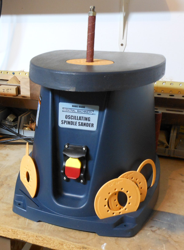 Central Machinery's Oscillating Spindle Sander | Toolmonger